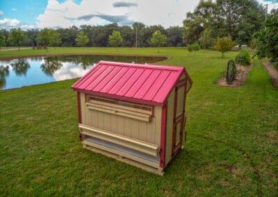 5x8 Free Ranging Chicken Coop